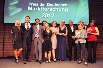 Preis der Marktforschung_2012_Preisträger