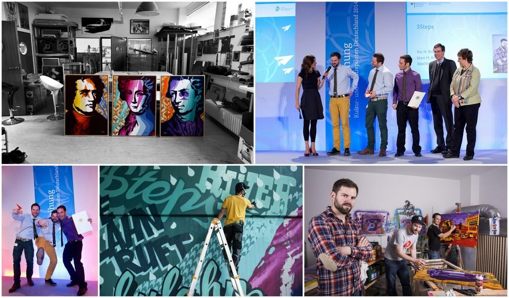 Kultur- und Kreativpiloten 2014 | 3Steps | Berlin | Preisverleihung der Bundesregierung
